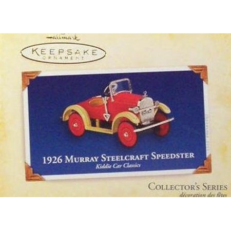 1926 Murray Steelcraft Speedster Kiddie Car Classics Christmas Ornament, Dated 2005 By Hallmark Keepsake Ship from US