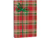 kraft red gold and green christmas plaid holiday christmas giftkraft red gold and green christmas plaid holiday christmas gift wrapping paper 16ft