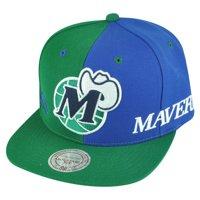 1a9c4d19f Product Image NBA Mitchell Ness NK27 Spilt Dallas Mavericks HWC Hat Cap  Snapback 2 Tone Mavs