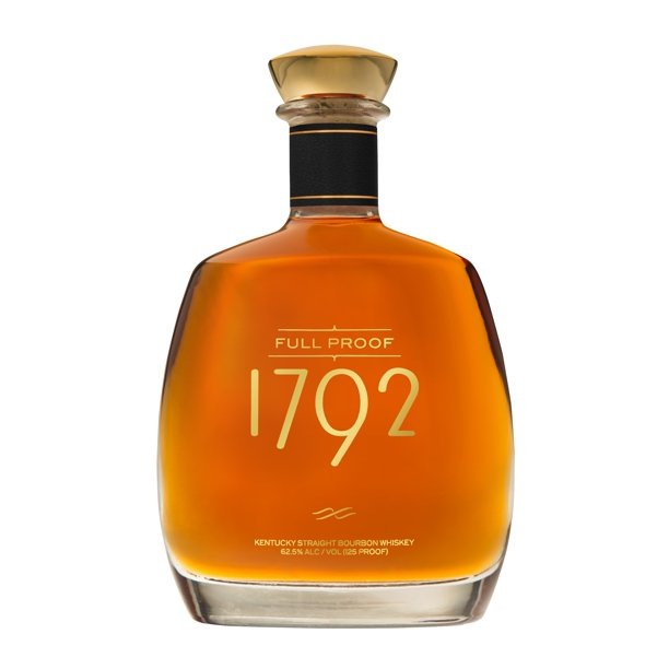 1792 Full Proof Kentucky Straight Bourbon Whiskey 750ml 125 Proof Walmart Com Walmart Com