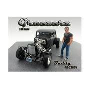 Greezerz Buddy Figure For 1:18 Diecast Model Cars by American Diorama