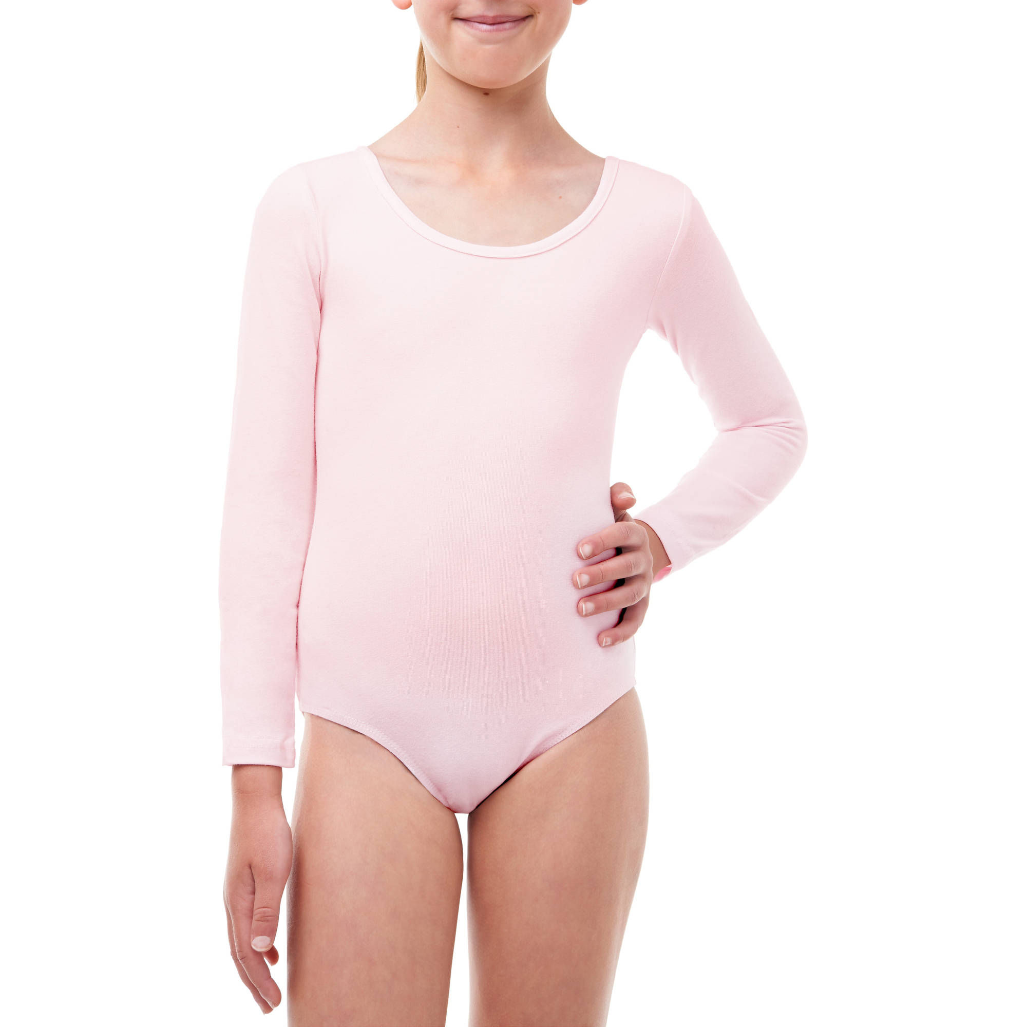 Danskin Now Girls' Long Sleeve Dance Leotard