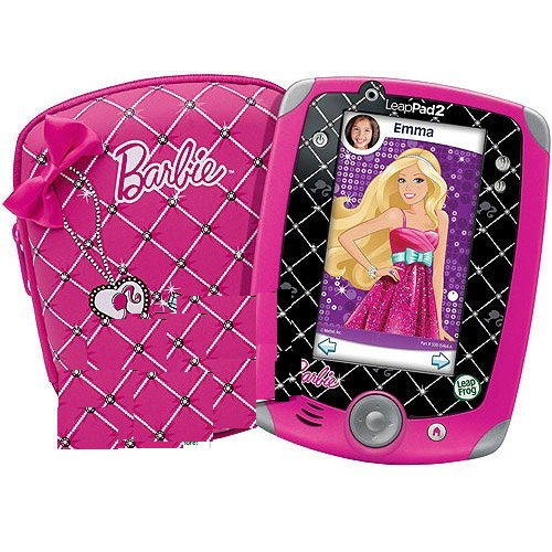 LeapFrog LeapPad 2 Barbie Kids Learning Tablet with 4GB o...
