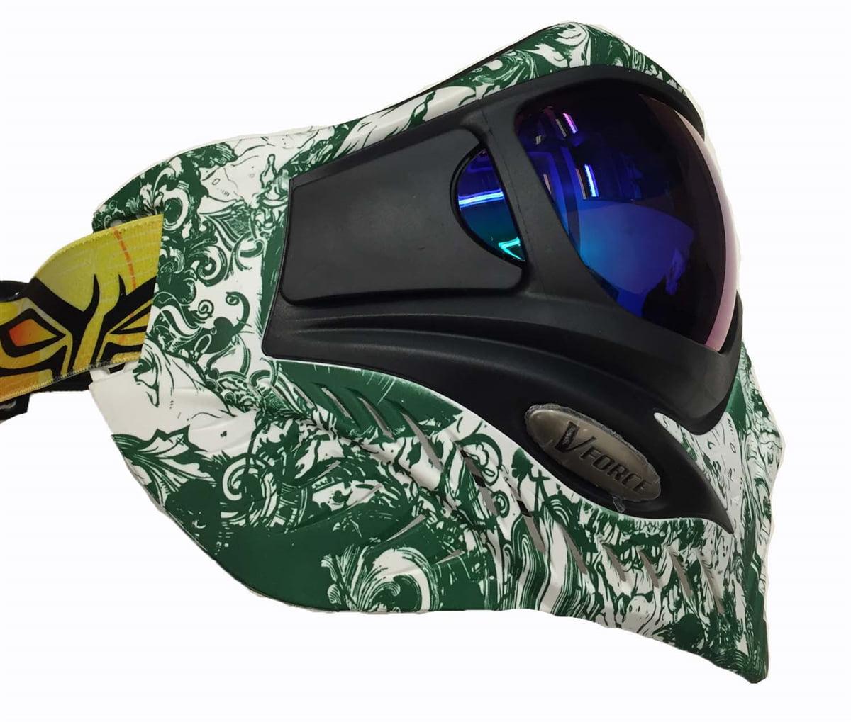 V Force Grill Paintball Mask Goggle Se Zombie Green Walmart Com Walmart Com