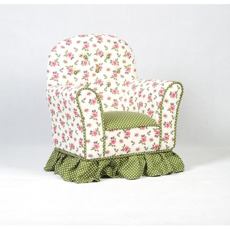 Costway Rural Style Kids Sofa Armrest Chair Couch Children Living Room Toddler Furniture