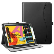 """Fintie Multi-Angle Viewing Case Cover for iPad 10.2""""(7th Generation 2019) - Folio Cases with Pocket & Pencil Holder"""