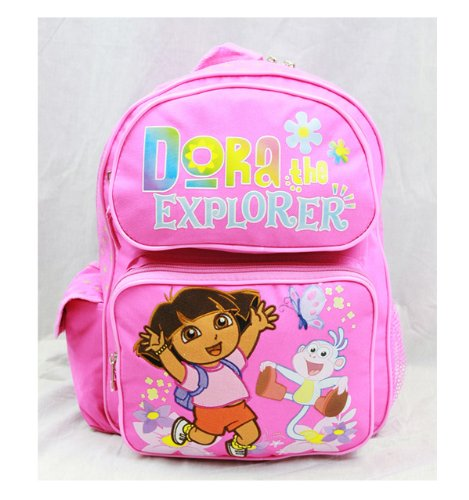 Medium Backpack - Dora the Explorer - Jumping w/Boots New School Bag 81328