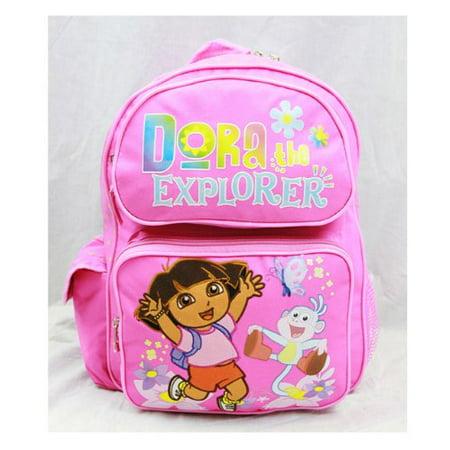 Medium Backpack - Dora the Explorer - Jumping w/Boots New School Bag 81328