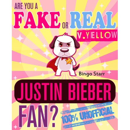 Are You a Fake or Real Justin Bieber Fan? Version Yellow: The 100% Unofficial Quiz and Facts Trivia Travel Set Game - eBook](Halloween The Movie Trivia Quiz)