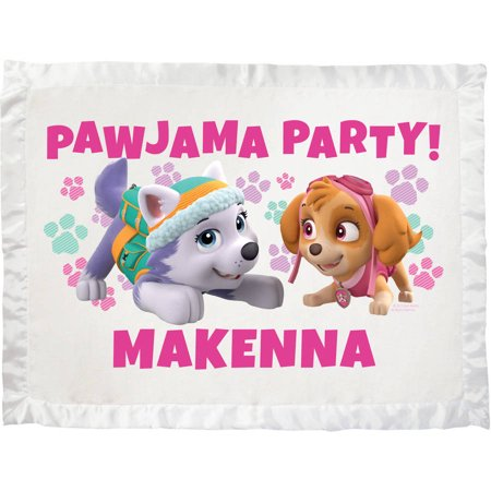 Personalized Paw Patrol Pawjama Party Ultra Soft Baby Blanket