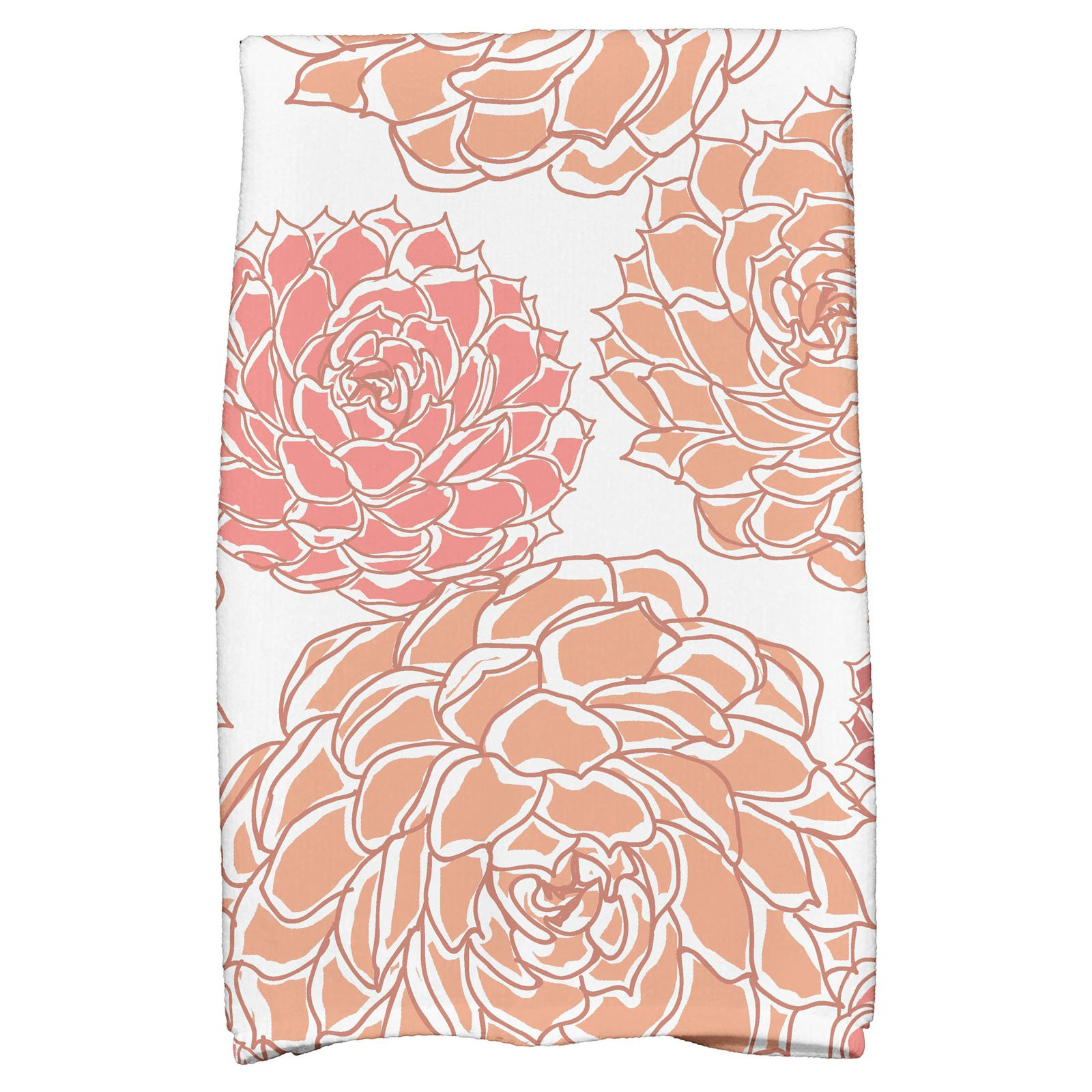 "Simply Daisy 16"" x 25"" Olivia Floral Print Kitchen Towels by E By Design"