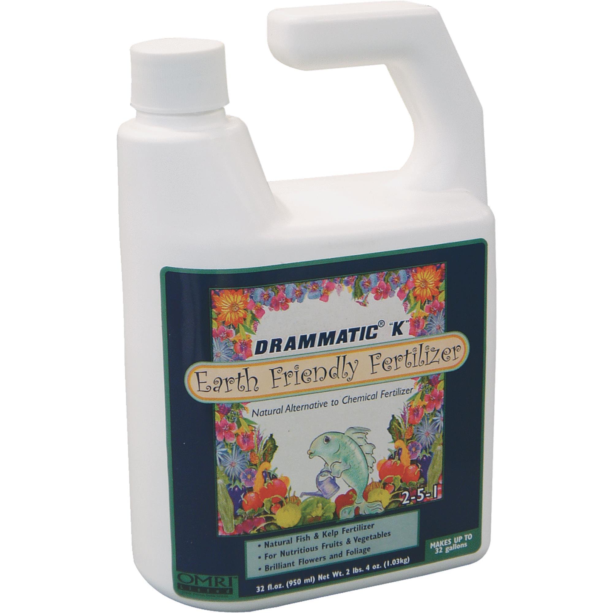 Drammatic K Organic Fish & Kelp Liquid Plant Food