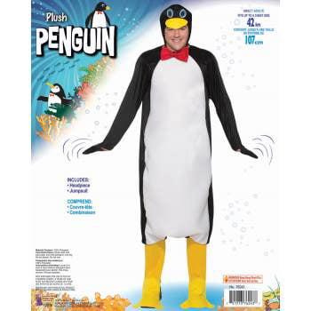 CO - PLUSH PENGUIN - STD - Peguin Costume