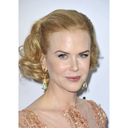 Nicole Kidman At Arrivals For Gday Usa Gala Rolled Canvas Art     8 X 10