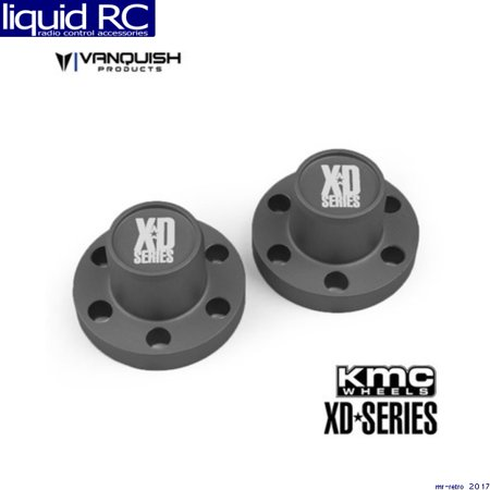 Vanquish 07722 Center Hubs Xd Series Grey Anodized