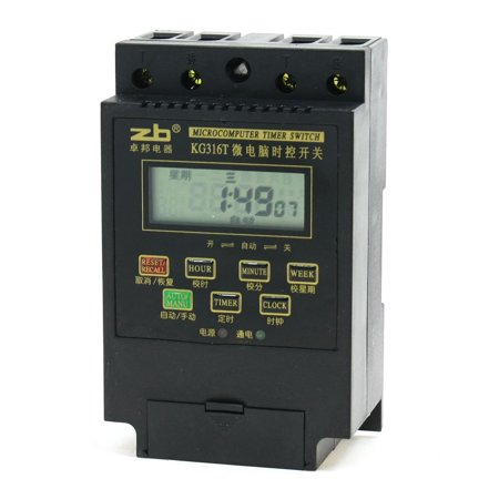 kg316t ac 220v microcomputer programmable timer timing control switch walma. Black Bedroom Furniture Sets. Home Design Ideas