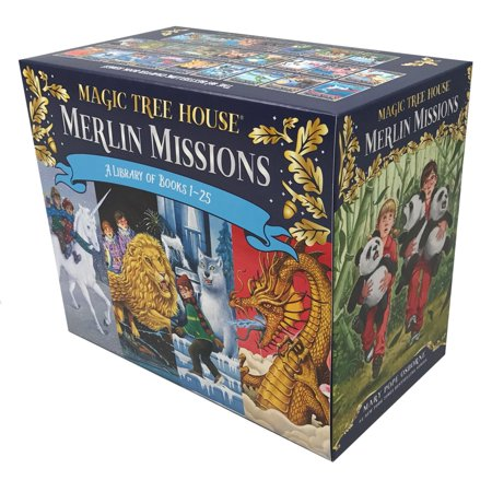 Magic Tree House Merlin Missions  1 25 Boxed Set