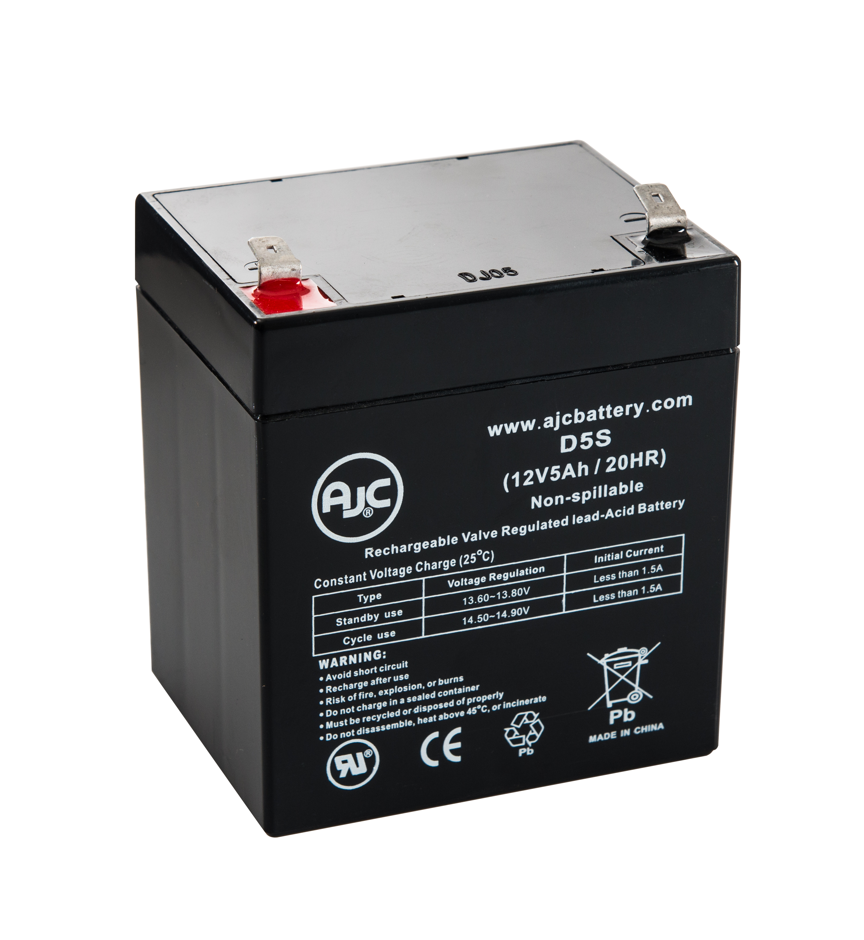 APC Smart-UPS 1500, SUM1500RMXL2U 12V 5Ah UPS Battery This is an AJC Brand Replacement by AJC Battery