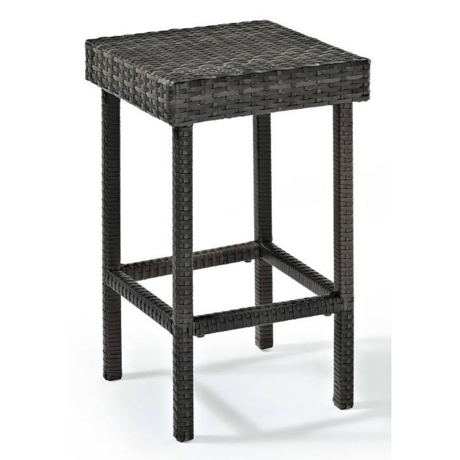 Crosley Palm Harbor Outdoor Wicker Bar Height Stool (Set Of 2)