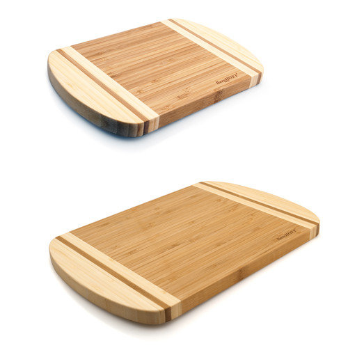 BergHOFF International EarthChef 2 Piece Bamboo Chopping Board Set