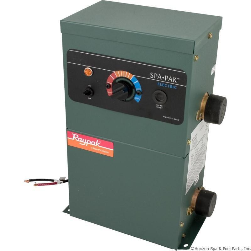 Heater, RayPak SpaPak, ELS 552-5, 230v, 5.5kW, Complete