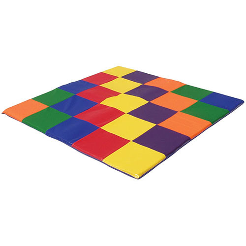 Patchwork Toddler Play Mat