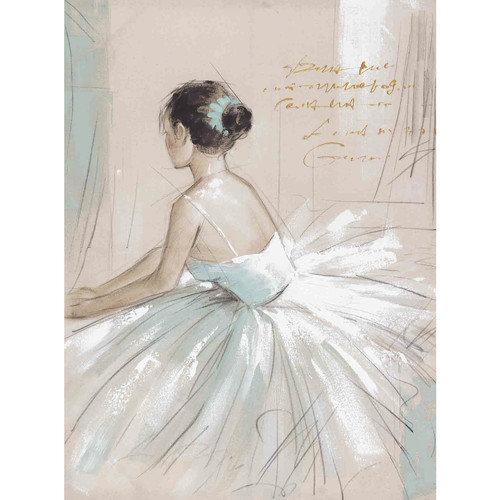 Yosemite Home Decor New Revealed Art Prima Ballerina Original Painting on Wrapped Canvas