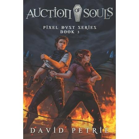 Pixel Dust: Auction of Souls: Fantasy GameLit RPG Series (Paperback)