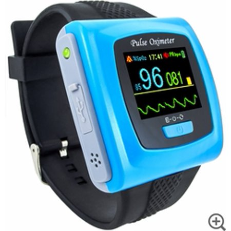 CMS-50FW Wristband Pulse Oximeter with Software & Bluetooth