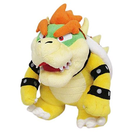 "Plush - Nintendo - Super Mario - Bowser 10"" Soft Doll New Toys Gifts 1423"