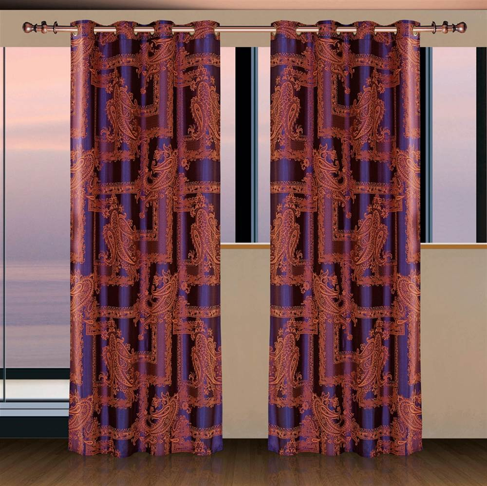 Curtain Panel in Calypso