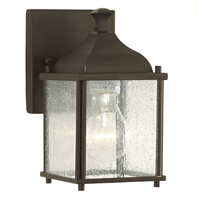 Feiss Terrace Outdoor Wall Lantern - 8.25H in. Oil Rubbed Bronze