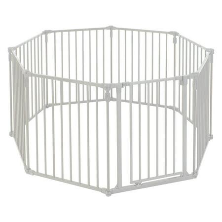 Toddleroo by North States 3-in-1 Metal Superyard, 12 Ft Baby Gate & Playard