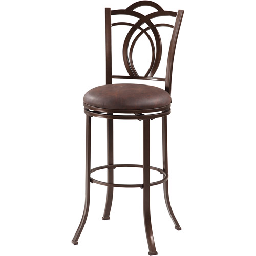 Linon Calif Metal Bar Stool