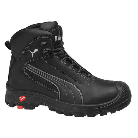 PUMA SAFETY SHOES Puma Safety Shoes Size 13 Composite Toe Boots, Men's, Black, EEE, 630515 13