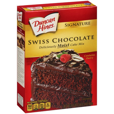 Duncan Hines Moist Deluxe Swiss Chocolate Cake Mix