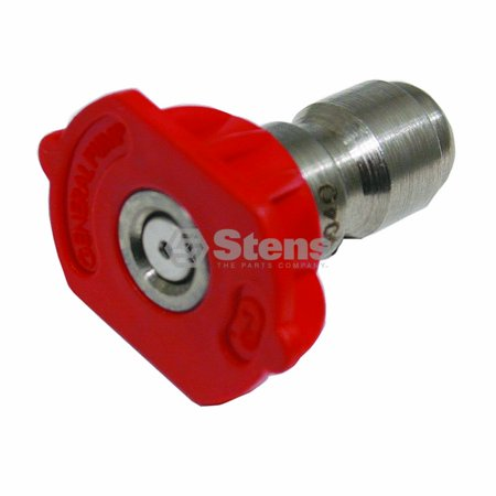 General Pump Nozzle - 0 Degree, Size 5.0, Red 1/4