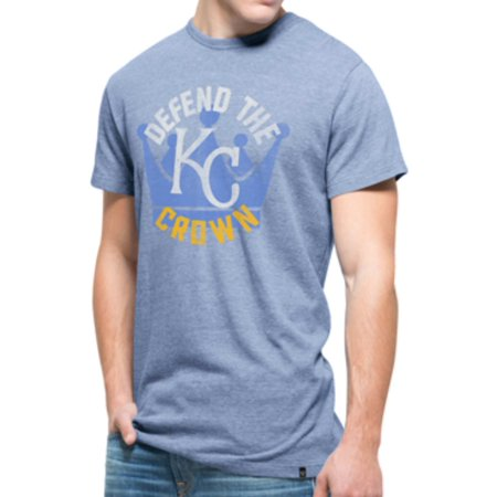 Kansas City Royals 47 Brand Blue Defend Crown Tri-Blend Tri-State T-Shirt by