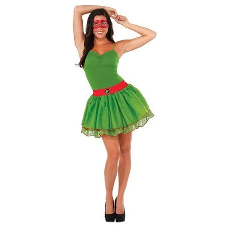 Teenage Mutant Ninja Turtles Raphael Sequin Tutu Green (80's Themed Costumes Ideas)