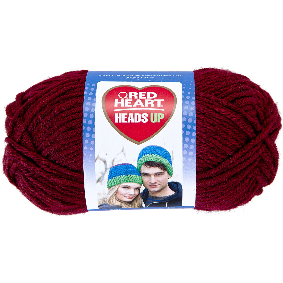 Red Heart Heads Up Yarn, Available in Multiple Colors