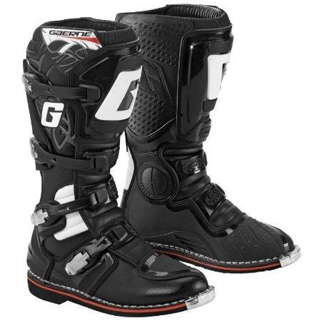 (Gaerne GX-1 Mens Black Motocross Boots - 8)