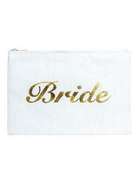 "Magid Straw ""Bride"" Clutch"