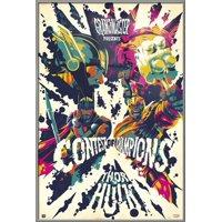 "Thor 3: Ragnarok - Marvel Movie Poster / Print (Contest Of Champions - Thor Vs. The Hulk) (Size: 24"" x 36"")"