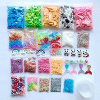 Staron Slime Supplies Kit Foam Beads Charms Styrofoam Balls Tools For DIY Slime Making