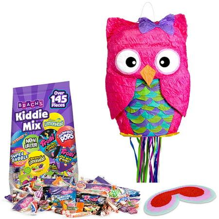 Pink Owl Pull-String Pinata Kit