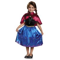 Disguise Disney Frozen Anna Deluxe Costume with Felt Headband 3T-4T