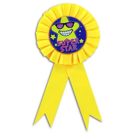 SUPER STAR AWARD RIBBONS (ONE