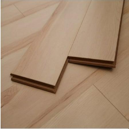 Maple Laminate Floor (Dekorman Maple Natural #1628 12mm Click-Locking Laminate Flooring - 5in x 7in Take Home Sample )