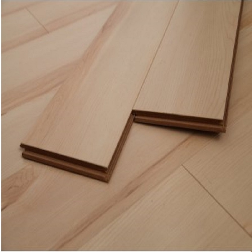 Dekorman Maple Natural #1628 12mm Click-Locking Laminate Flooring - 5in x 7in Take Home Sample