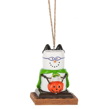 Smores Dressed as Trick or Treater Christmas Holiday Ornament